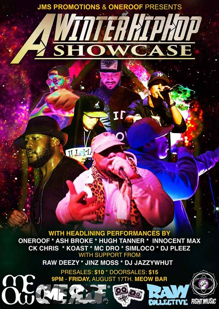 Just The Ticket | A Winter Hip Hop Showcase (JMS Promotions