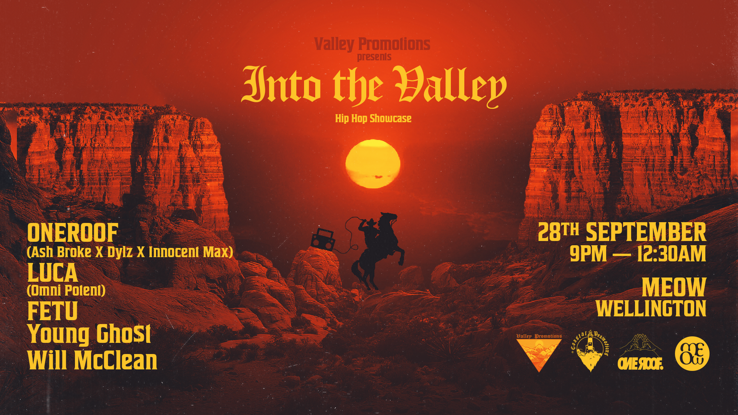 Just The Ticket | Valley Promotions Presents: Into the